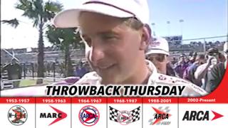 Kenny Irwin goes to victory lane at Daytona