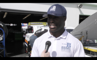 A College Athlete to a Navy Lieutenant and now an ARCA Driver, Jesse Iwuji