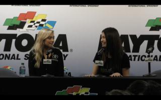 Leilani Munter Full Press Conference from Daytona