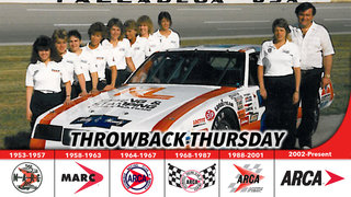 All female pit crew carries Venturini to '87 national title