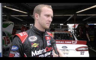 Braden receives advice from Ken Schrader to get involved with ARCA