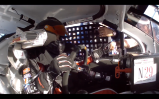 On board with Natalie Decker at Daytona