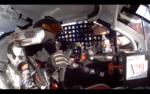 On board with Natalie Decker at Daytona