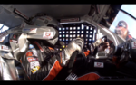 On board with Travis Braden at Daytona
