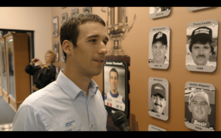 Austin Theriault joins wall of ARCA Champs