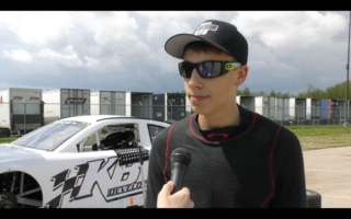Hocevar testing at Toledo Speedway Part 1