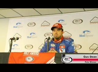 Gus Dean wins Pole in Pocono