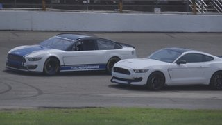 Ford's New NASCAR Mustang Makes Track Debut at ARCA's Flat Rock Speedway