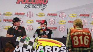 Post Race Interview With Winner Ty Majeski