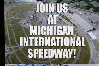 Join Us At Michigan International Speedway This Friday!
