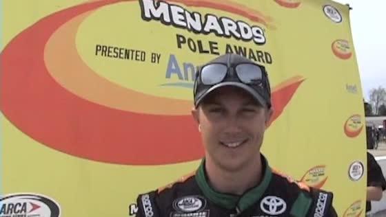 VIDEO: Justin Boston three-peats pole at Salem