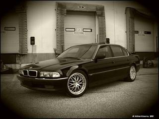 BMW 7er front