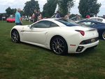 Ferrari California White Rear