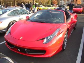 2012/13 Ferrari 458 Italia Spider