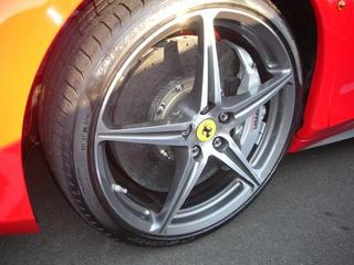 Ferrari 458 Drivers Side Wheel