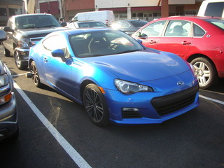 Subaru BRZ Front
