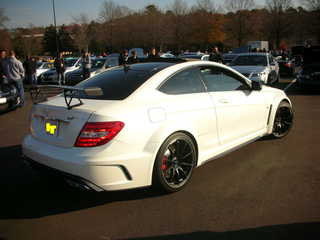 Mercedes-Benz C63 AMG Black Series Coupe Rear