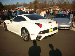 Ferrari California Backing Up