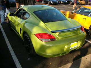 Porsche Cayman R Rear