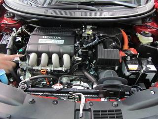 2013 Honda CR-Z engine