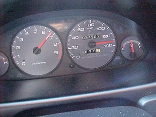Speedometer 10 3 99 01