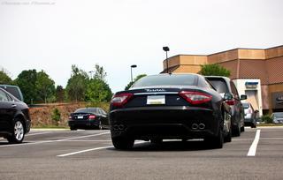 Maserati GranTurismo S & Mercedes C63 AMG Sedan