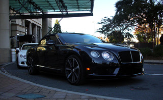 Bentley Continental GTC V8 S and Continental GT W12