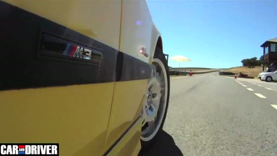 BMW E36 M3 On Track at Ascari Circuit