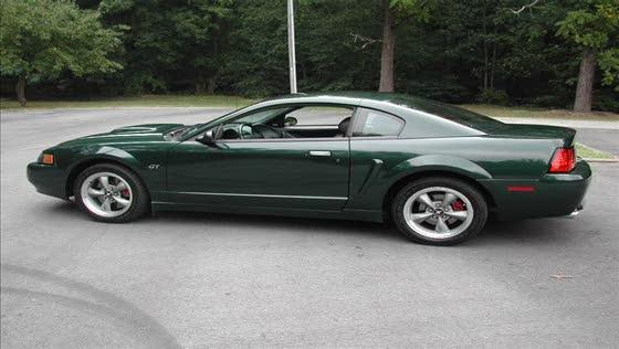 2001 Mustang Bullitt  #661