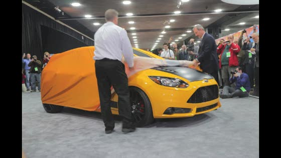 The Shelby Focus ST Reveal at the 2013 NAIAS