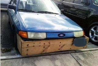 Ford Escort front spoiler