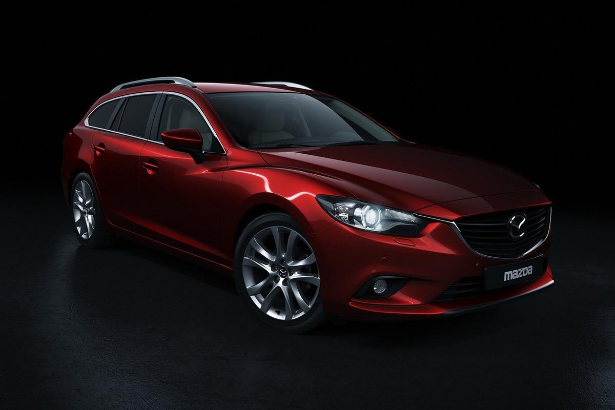 New 2014 Mazda 6 Wagon Front Quarter