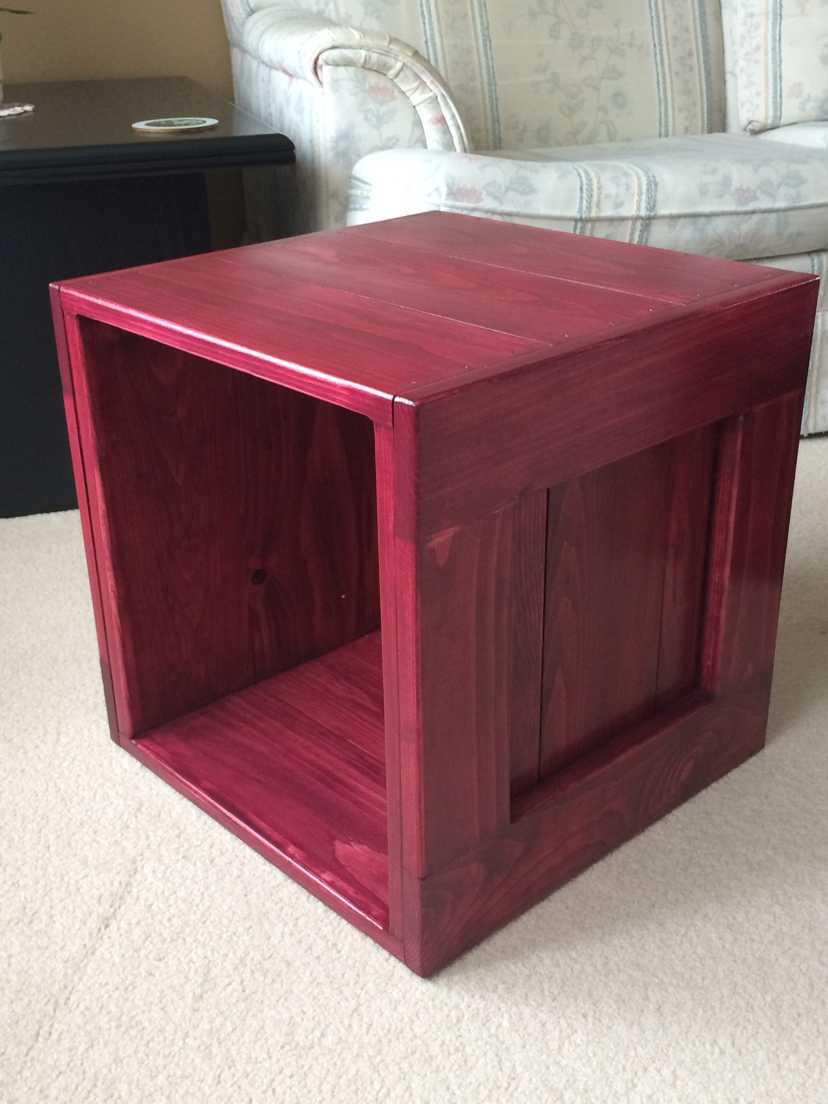 Cube Table Finsihed