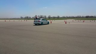 First Autocross - Final Run 42.013