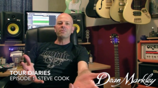 Tour Diaries: Episode 1 Steve Cook