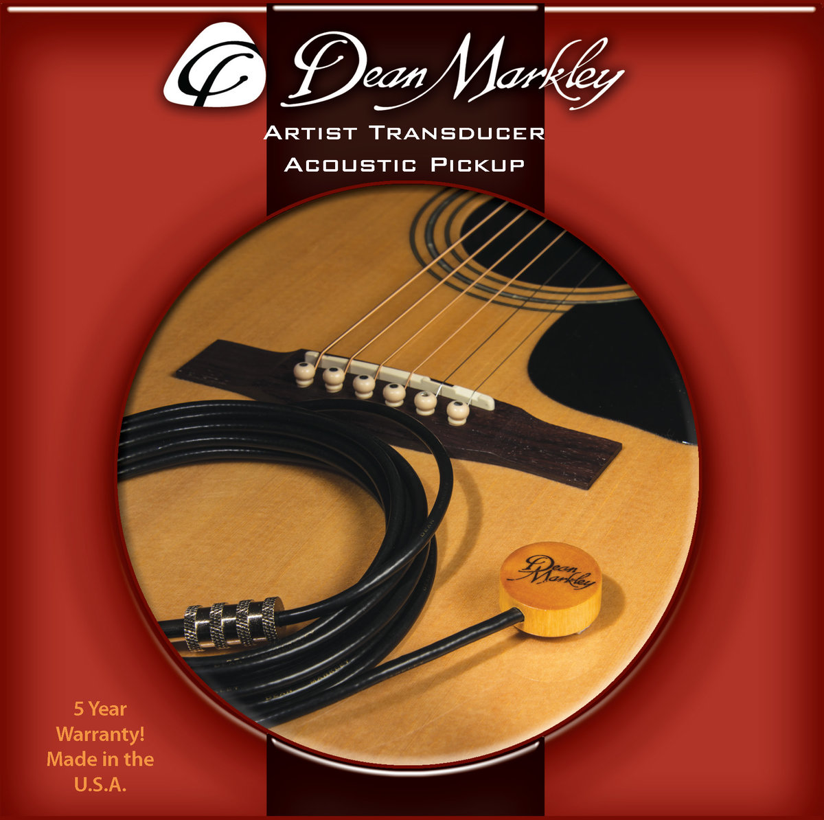 Products Transducer Dean Markley Pickup Wiring Diagram Artist Acoustic