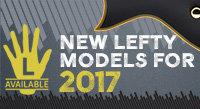 New and Updated Left-Handed Models for 2017