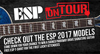 ESP Guitar Australia - On Tour 2017