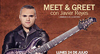 July 24: Javier Reyes Meet & Greet in Chile