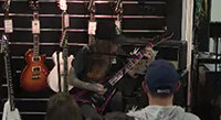 Video: Alexi Laiho ESP Clinic in France