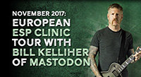 November: Bill Kelliher ESP Clinics in Europe