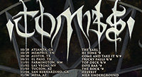 Tombs Rocks ESP on Tour