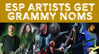 ESP Players Get 2018 GRAMMY Nominations
