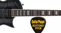 "LTD EC-1000 Piezo Wins Guitar Player ""Editors' Pick"""