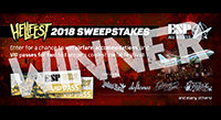 Congrats Eric Dalby, Hellfest 2018 Sweepstakes Winner