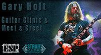 Tue Aug 14: Gary Holt (Slayer/Exodus) Clinic at Strait Music Co.