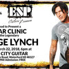 George Lynch ESP Clinic at Motor City Guitar