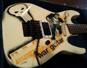 1989 ESP MII - Punisher War Guitar