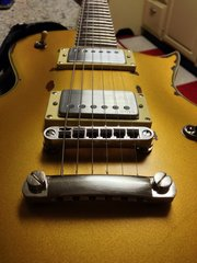 EMG 57/66 in LTD EC-256 Aged Vintage Gold