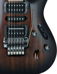 Ibanez S5470 Prestige Transparent Black Sunburst